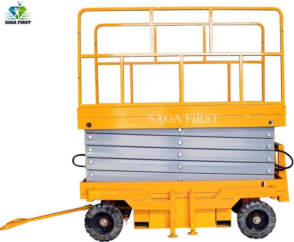 Cheap Price Portable Mobile Self Propelled Working Platform/scissor Lift