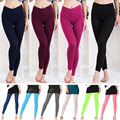 Fashion Winter Autumn Super Flexible Women leggings High Waist Skinny Stretchy Sexy Pants Soft leggins Pencil Trousers 10Colors