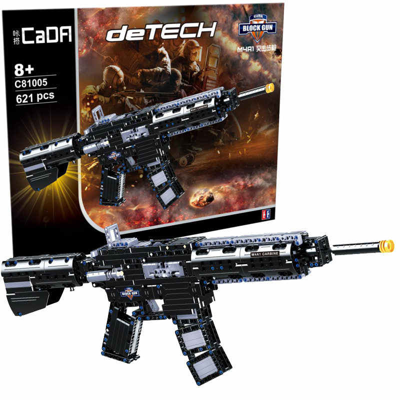Revolver Pistol Power GUN SWAT Technic Military Army Model Building Blocks Brick Set Weapon educational Toys For children gifts
