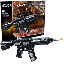 Revolver Pistol Power GUN SWAT Technic Military Army Model Building Blocks Brick Set Weapon educational Toys For children gifts(China)