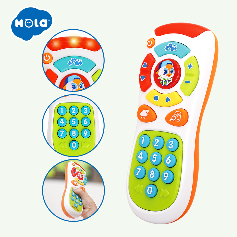 Baby Hammer Toy Dynamic Rhythm Stick &  Electric Click & Count Remote with Light & Music