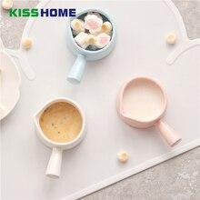 60 мл японские молочные кувшины с ручкой фарфор матовая глазурованная поверхность соус чашка острый Орлиный рот вспениватель горшок кофе контейнер