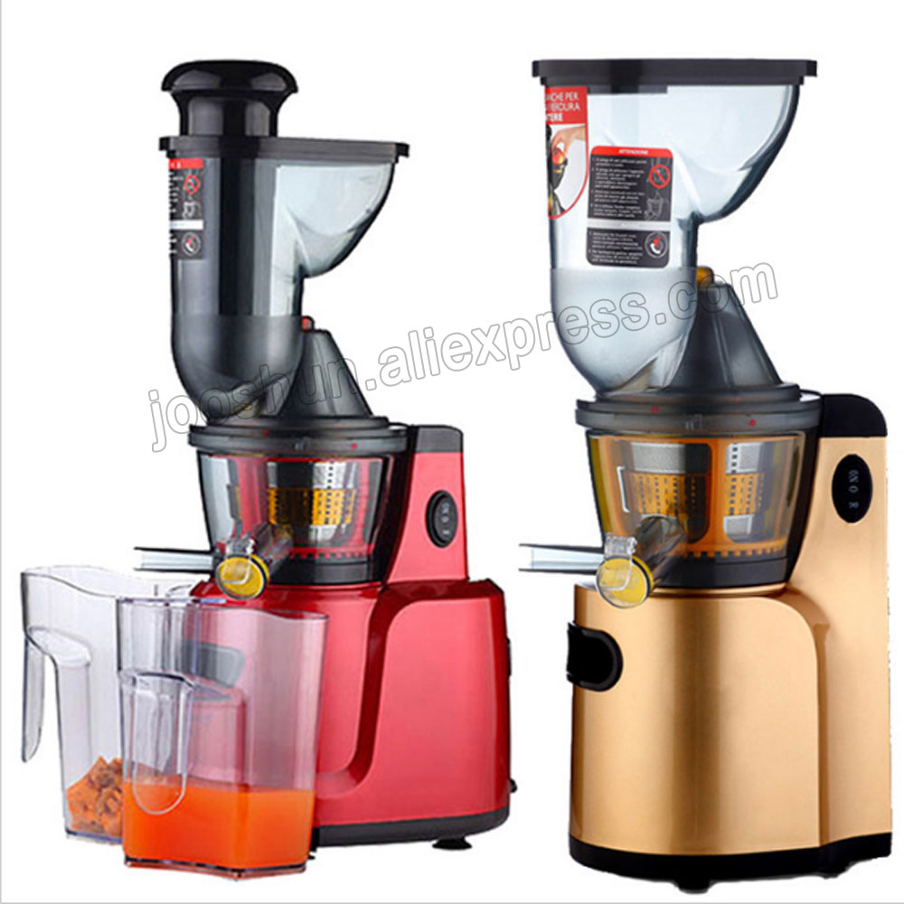 BEST Juicer Reviews Fruit Juicers Machine 300W Juicing Slow Low Speed Green Juice Extractor Food ...