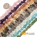 "6x8mm Seed Natural Stone Beads For Jewelry Making beads : Quartz, Amethyst, Critine, Moonstone, Labradorite Strand 15"" Wholesale"