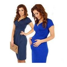 2016 New Arrival Cotton Maternity Dresses Black Maternity Dresses Fashion Maternit clothes for pregnant women dress BB04