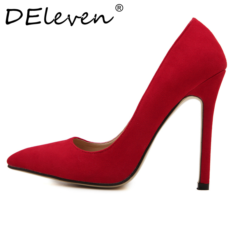 Red Court High Heels
