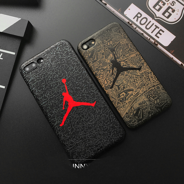 Hot jump Jordan 3D Emboss Soft silicon cover case for iphone 5 5S SE 6 6Plus S 7 7 plus 8 8Plus X XS XR MAX fly man phone cases