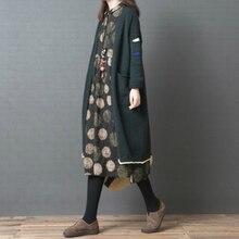 Новые свитера для беременных осень и зима свитер пальто свободный большой размер сплошной цвет длинный кардиган Топы для беременных