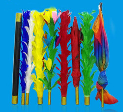 Feather Sticks Variation -Stage Magic Tricks,Close Up Magic Props,Apprentice Illusion Magician,Professional Magic Kit