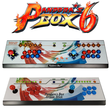 New arrival 1300 in 1 Pandoras Box 6 Household electronic game machine , Joystick Consoles