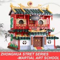 XingBao 01004 2531 шт. подлинной творческой здание серии китайских боевых искусств набор детей строительные блоки кирпичи Лепин City
