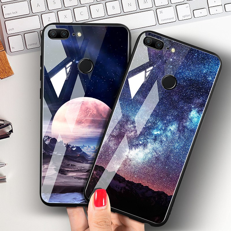 Odifren Space Case on for Huawei Honor 9 Lite 10 Case Cover Mate 10 Lite Glass Coque Phone Case for Huawei P20 Lite Pro P Smart (13)