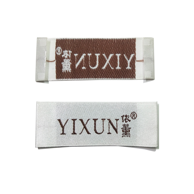 Ladies Woven Garment Accessories Customized Apparel Customized And Collar Trademark Custom White Collar Standard Custom