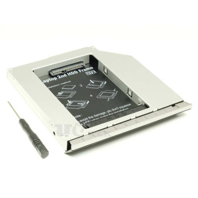 2nd HDD Caddy SSD SATA hard drive Caddy for HP EliteBook