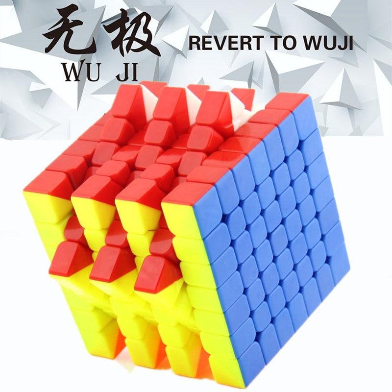 QIYI WUJI 7X7 Cube magique, un 7X7 raffiné pour le CUBE de vitesse de compétition, Cube de vitesse magique jouets pour garçons jouets éducatifs Puzzles