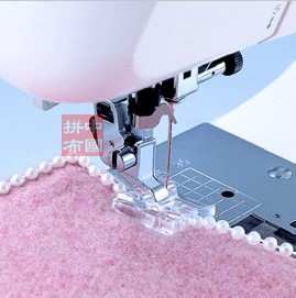 Domestic Round Bead Foot presser foot 9910 round bead feet for household sewing