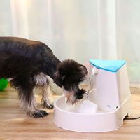 Automatic Electric Pet Water Fountain High Capacity Water Dispenser for Small Medium Pet Dog Cats Corner Fit Drinking Bowl