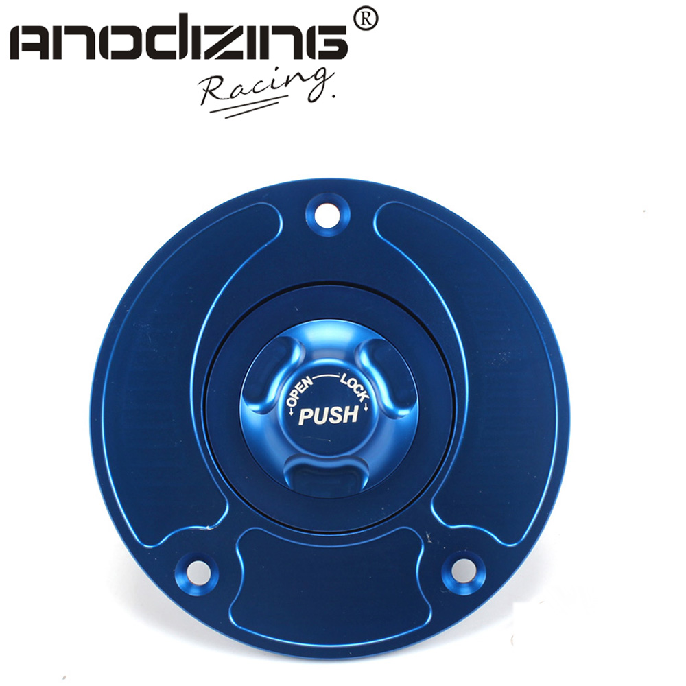 Motorcycle New CNC Aluminum Fuel Gas CAPS Tank Cap tanks Cover With Rapid Locking For SUZUKI GSX1300R HAYABUSA high quality motorcycle parts aluminum alloy gas fuel petrol tank cap cover fuel cap for honda cbr 929 954 rc51 all years