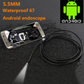 5.5mm 1/1.5/2/3.5/5M Focus Camera Lens USB Cable Waterproof 6 LED Mini USB Endoscope Inspection Camera For Android