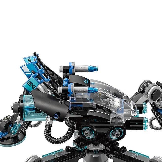 Ninjagoe Movie 538 sztuk klocki budowlane dla dzieci cegły Striders wody prezenty
