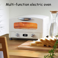 AET G15CA Infared Heating Oven Toaster Baking Machine Multifunctional Household Commercial Bakery Oven With English Manual