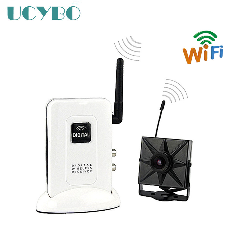 2.4 GHz Transmisor receptor sistema Inalámbrico Digital mini cámara del CCTV del