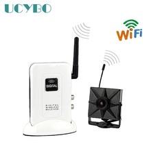 2.4 ГГц Цифровая Беспроводная мини-камера система приемник Передатчик Cctv дома видео аудио Камера wifi surveillance Kit