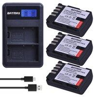 3X DMW BLF19 DMW BLF19E DMW BLF19PP BLF19E Battery+ LCD Dual Charger for Panasonic Lumix GH3 GH4 GH5 DMC GH3 DMC GH4 DMC GH5 G9