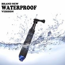 49 см gopro selfie stick алюминиевый выдвижная полюс сложенном водонепроницаемый для gopro hero sj4000 sj5000 sjcam летом стиль