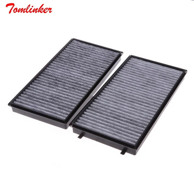 Cabin Air Filter Fit For BMW E65 E66 730Li 740Li 750Li 760Li ALPINA B7 E65 ROLLS ROYCE RR1 2 3Model 2006 2008 Filter Accessories