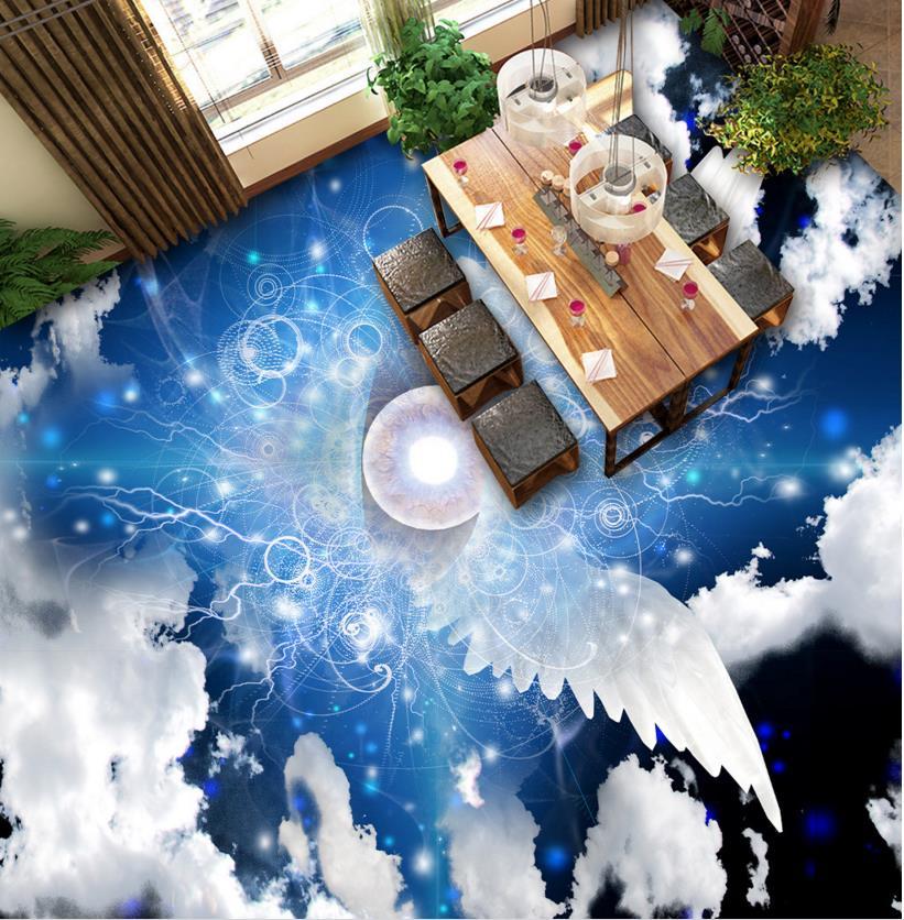 ФОТО 3d floors custom 3d stereoscopic flooring murals waterproof decoration floor 3d pvc flooring