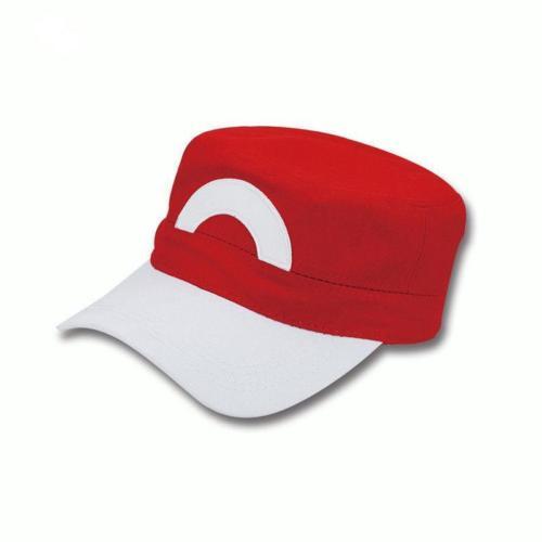 Pokemon XY XYZ Go Satoshi Ash Ketchum Cosplay Prop S5 Red&White Baseball Cap Hat[307617]