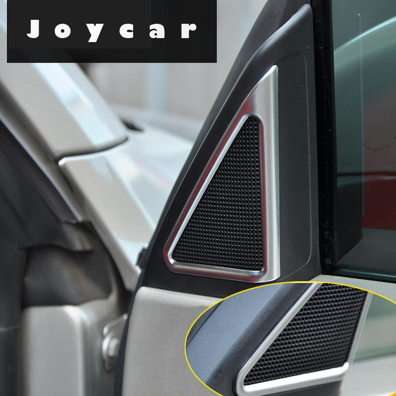 FOR VW BEETLE A PILLAR AUDIO STEREO SPEAKER RING TRIM COVER STICKER CAR ACCESSORIES