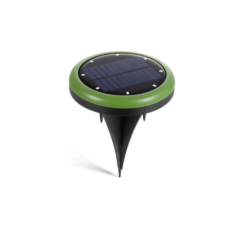 Solar Ground Led Light 8 Leds Supper Bright Perfect for Garden Lawn Yard Walkway Pathway Driveway Roadway & Street Solar Power l806 solar 8 led light black
