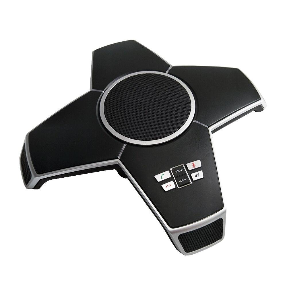 A510W 3.5mm Jack Audio sans fil usb haut-parleur Skype appel professionnel intégré 4 Microphones omnidirectionnels