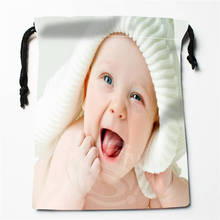 t h96 New Cute baby Custom Printed receive Bag Compression Type drawstring bags size 18X22cm 7