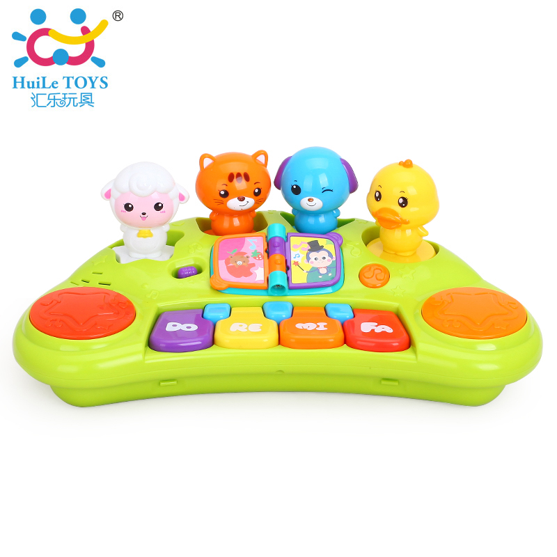 Peppa Pig Offcial Store Kids Musical Toys Learning  Education Piano Keyboard Instruments Electronic Percussion Baby Toys Music Toy for Children