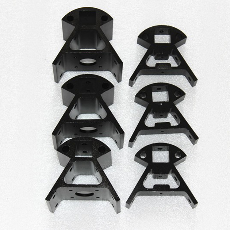 Full Metal 3D Printer Kossel Black Aluminum Alloy Delta Set Big And Small Corner Pieces Aluminum Alloy Base X103 цена 2017