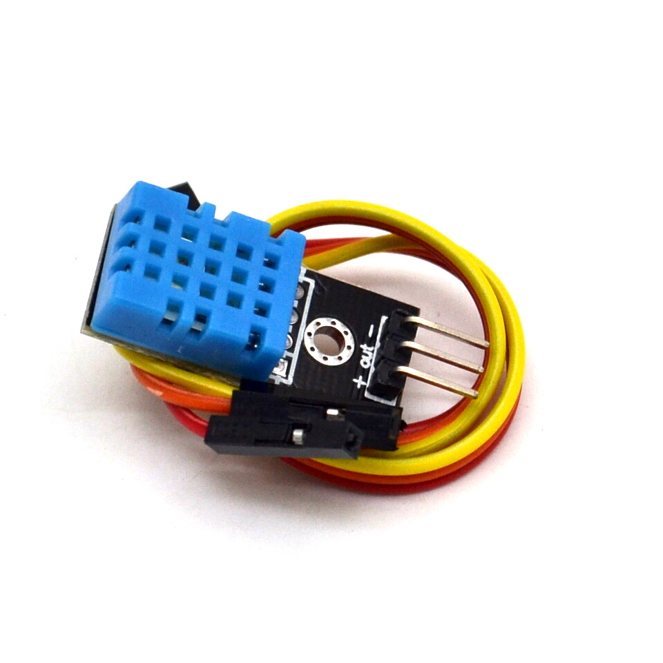 Temperature And Relative Humidity Sensor DHT11 Module With Cable For Arduino Diy Kit