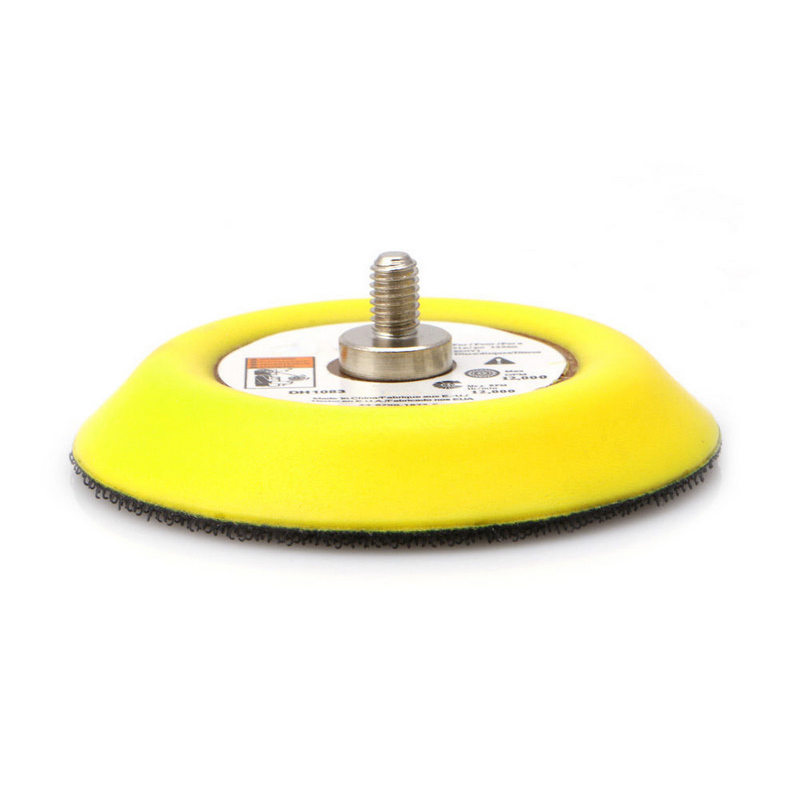 3 Polishing Sander Backer Plate Sanding Disc Pad Napping Hook Loop for Electric Grinder Rotary Tool парка tony backer tony backer to043emxqd18