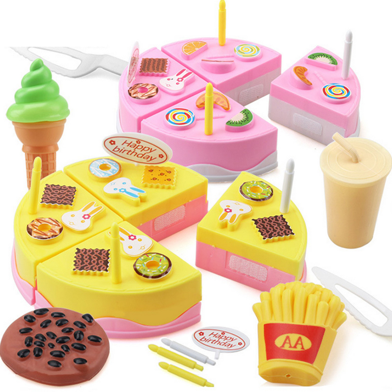 Buy 11pcs kids kitchen toys birthday cake - Cocina juguete aliexpress ...