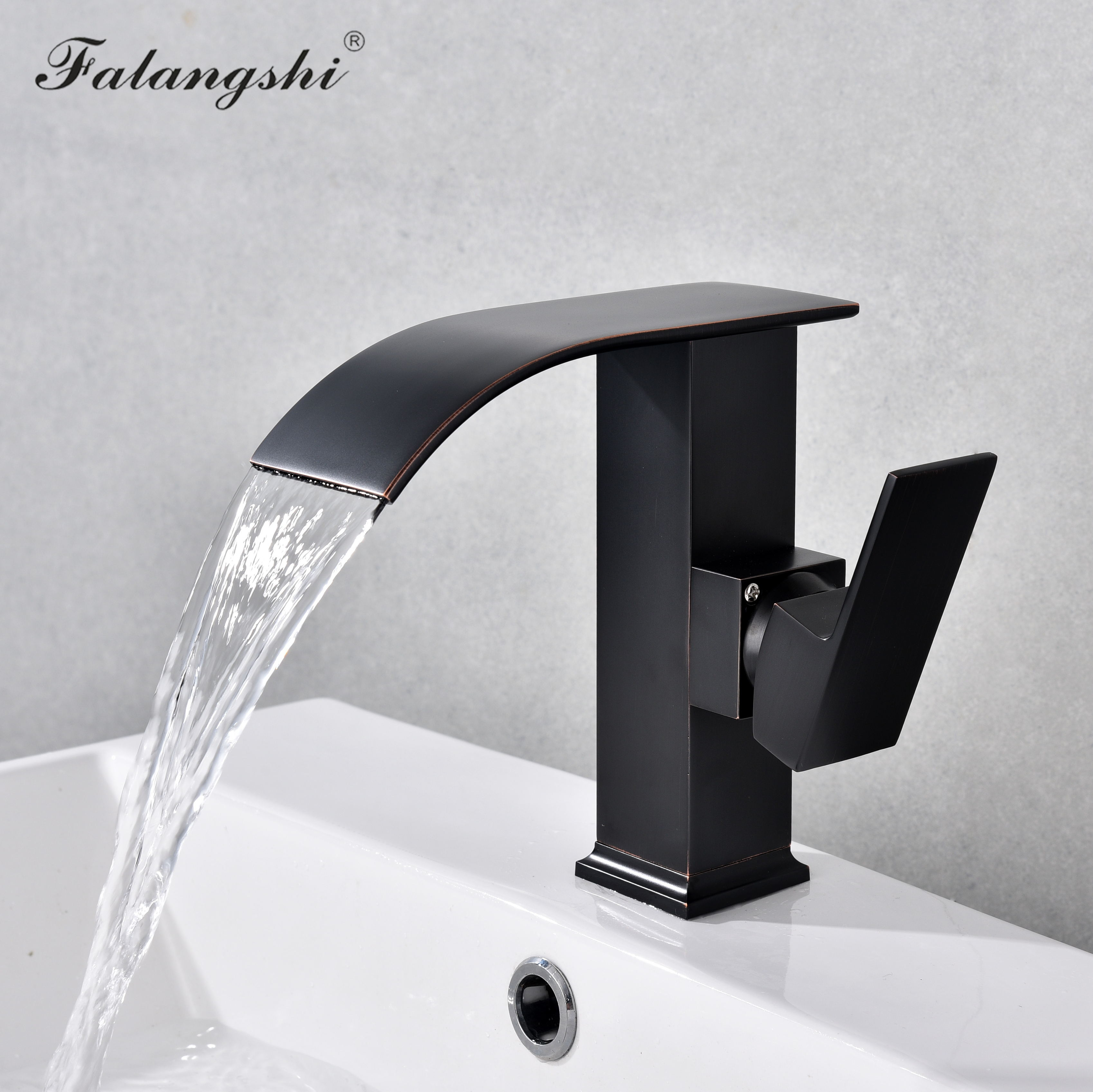 Bathroom Waterfall Faucets Basin Sink Taps Cold And Hot Water Vanity Vessel Sink Mixer Tap Deck Mounted WB1030Bathroom Waterfall Faucets Basin Sink Taps Cold And Hot Water Vanity Vessel Sink Mixer Tap Deck Mounted WB1030
