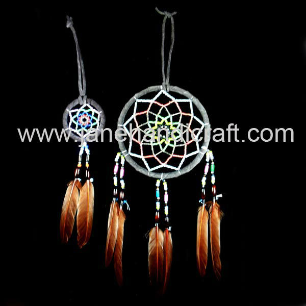 Shipping Free Native American Dream Catcher 2pcs 4