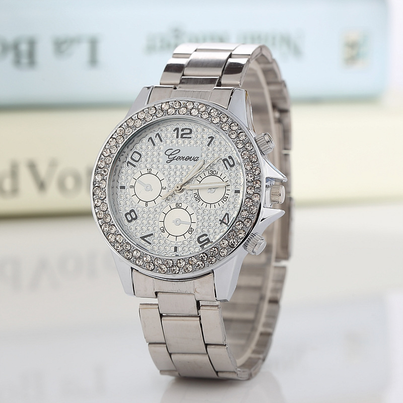 2019 New Famous Brand Rosy Gold Casual Quartz Watch Women Full Stainless Steel Dress Watches Relogio Feminino Ladies Clock Hot in Women 39 s Watches from Watches