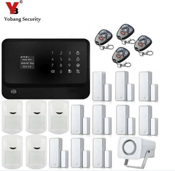 где купить Yobang Security WIFI GSM Alarm Wireless Alarm Smart App Smart Home Automation Alarm System with Independent Smart zone Function по лучшей цене