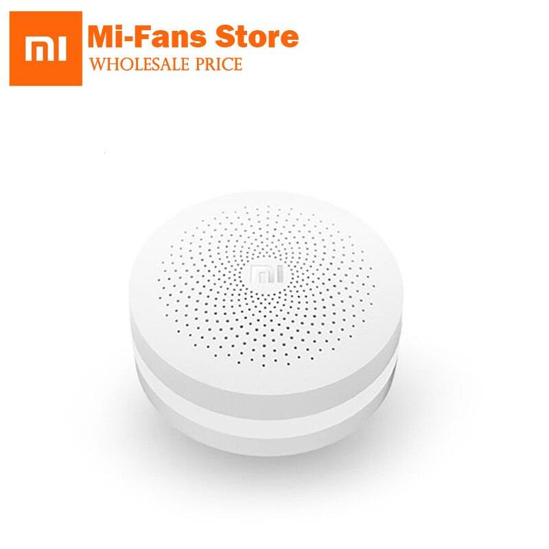 Originale Xiaomi Smart Multifunzionale Gateway WiFi Intelligente Telecomando Intelligente Radio Online/Campana con Spia Gateway