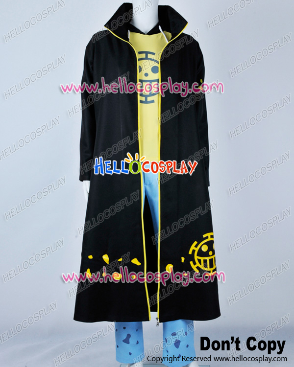 One Piece Cosplay Trafalgar Law Full Set Costume H008