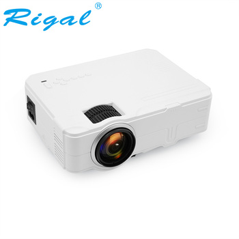 Rigal RD812 Mini LED Projector WiFi Wireless Wired Sync Display LCD Videp Projector Multi Screen HDMI VGA USB Video Home Theater Проектор
