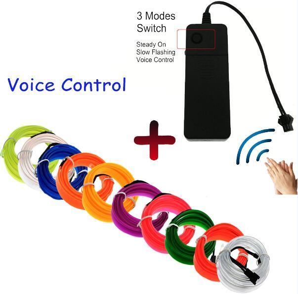 Voice driver EL wire
