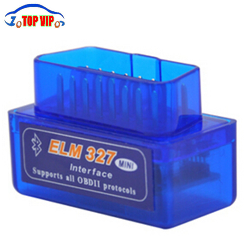 Super Mini ELM327 V1.5 Bluetooth Scanner ELM 327 V1.5 With PIC18F25K80 OBD2 Scanner Support J1850 Protocols